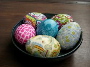 Загорнуті у тканину яйця